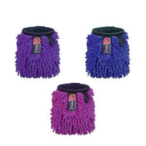 Das Bild zeigt drei Rasta Chalkbags von i´bbz. Man sieht sie jeweils von der Vorderseite und erkennt den namensgebenden, rastaförmigen Außenstoff sowie das Logo Label.