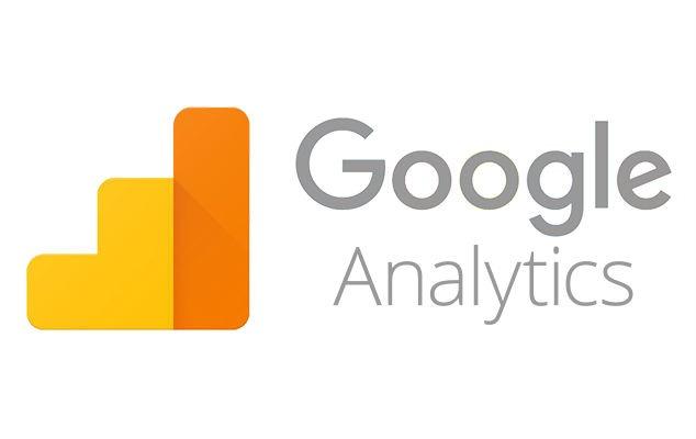 Das Bild zeigt das Logo von Google Analytics