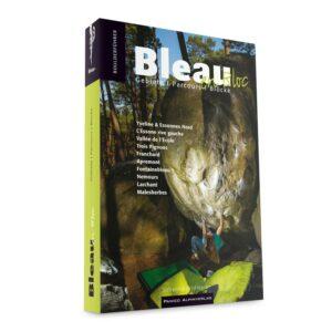 Das Bild zeigt das Cover des Fontainebleau Boulderführer En Bloc.