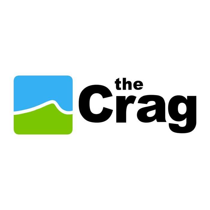 Das Bild zeigt das Logo von theCrag.com.